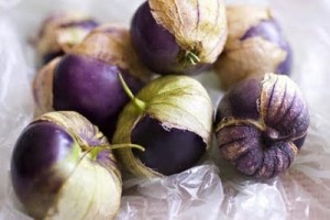 purple tomatillo
